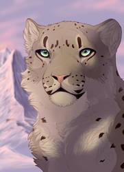 Atanu Snow Leopard by akeli