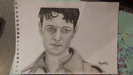 James McAvoy as Robbie Turner in Atonement by meerkat--love