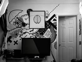Sharpie wall by THReez