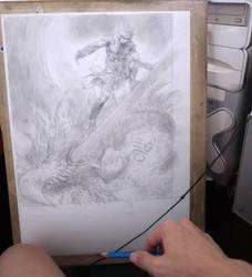 Water Dragon by EastMonkey
