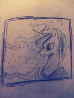 Princess Luna by BronyPerson