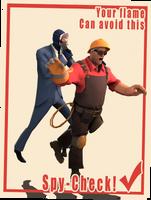 Propaganda Poster For Pyro. by Reyzuken