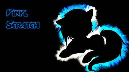 Vinyl Scratch Subtract Wallpaper by Shelmo69