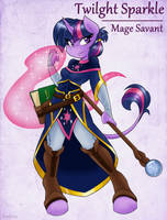 Adventuring is Magic: Twilight Sparkle by Ambris