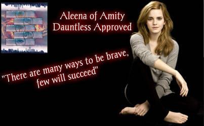 Aleena of Amity - Born by Uzumaki-Emmy