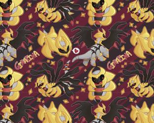 Cute Lil Giratina Tile by TawnySoup