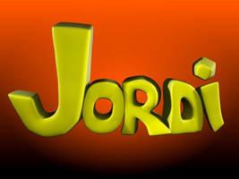 My 3D Name by JordiHP