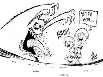 It is not scary... by JordiHP