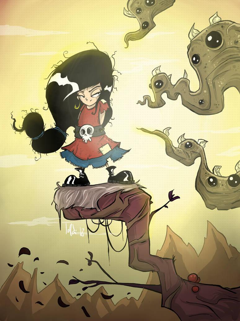 Octopus Girl by JordiHP