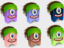Dreadhead Creatures Icons by FreeIconsFinder