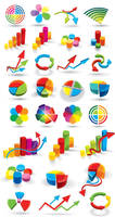 Color Chart Icons vector graphics by FreeIconsFinder