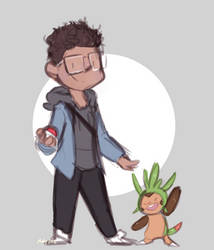jj and chespin by PikatsuTran