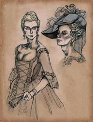 Notorious Lady by magajaga