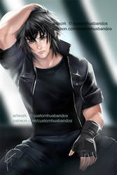 +NSFW Level 1 Noctis (Free to Use!) by customwaifus