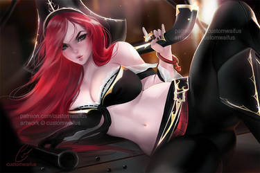 AUGUST'S WAIFU: Level1 Miss Fortune (FREE TO USE) by customwaifus