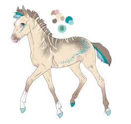 5863 Move Your HipsXKentucky Roamer | Foal Design by Dreamer12423