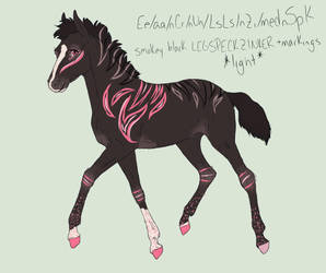 N2008 TuskXLiving a Striped Life | Foal Design by Dreamer12423