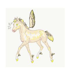 N2020 Just One YesterdayXGilded Wind | Foal Design by Dreamer12423