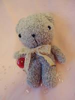 Vintage Valentine Teddy by judithchen