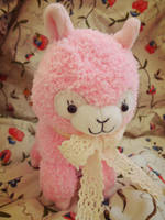 Curly Alpaca Plush by judithchen