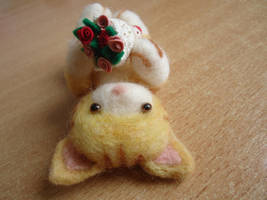 Needle Felted Little Siobhan by judithchen
