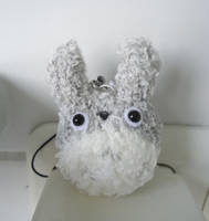 Mini Totoro Plush Strap by judithchen
