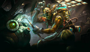 Goblin Gearsmith by ArtofLeoLi