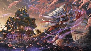 Onmyoji - Blood Season by ArtofLeoLi