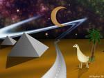 Pyramids by LithMyathar