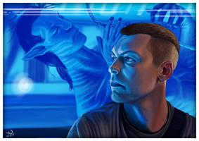 Avatar - Jake and His Hybrid by JayWestcott