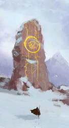 Downward Pyramids by baitak