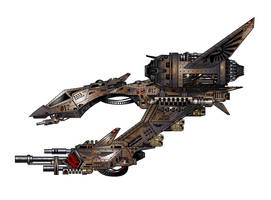 Night Hawk Fury Interceptor by The-First-Magelord