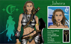 Jahiera From Balder's Gate2 by The-First-Magelord