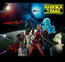 Ahsoka Tales Anime Cartoon by The-First-Magelord