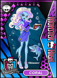 Monster High OC, Coral by The-First-Magelord