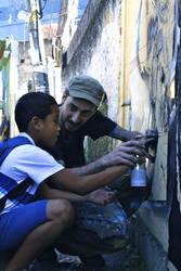 Comune do Vidigal, Rio by orticanoodles
