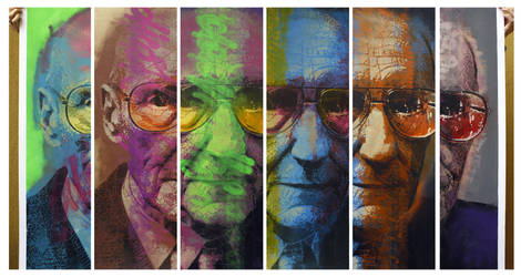 Williams Burroughs by orticanoodles