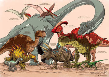Dinosaurs (1) by WillDynamo55