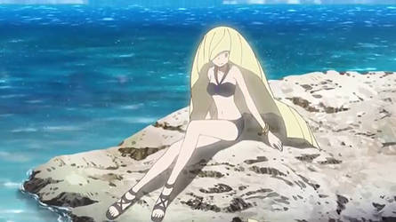 Lusamine's Swimsuit by WillDinoMaster55