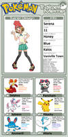 Trainer Profile: Serena by WillDynamo55