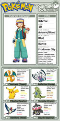 Trainer Profile: Ritchie by WillDynamo55