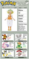 Trainer Profile: Bianca by WillDynamo55