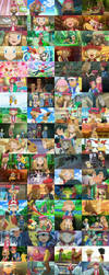Serena and Amourshipping Collage by WillDinoMaster55