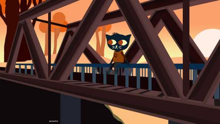 Night in the Woods - Mae Borowski by germw0rm