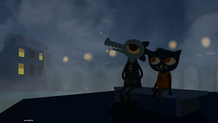 Night in the Woods - Proximity by germw0rm