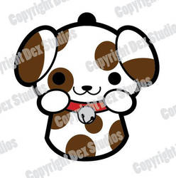 Puppy Charm Design by DexStudiosDesigns