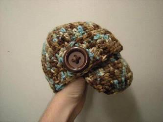 Crochet Baby Hat by DexStudiosDesigns