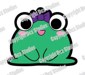Froggy Charm Design by DexStudiosDesigns