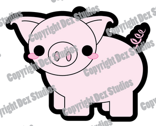 Piggy Charm Designs by DexStudiosDesigns