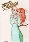 Dahud and Himerish in love by dauwdrupje